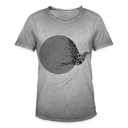 Black Bird blackwhitecontest - Herre vintage T-shirt
