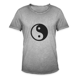 YIN YANG CLOTHES - Men's Vintage T-Shirt