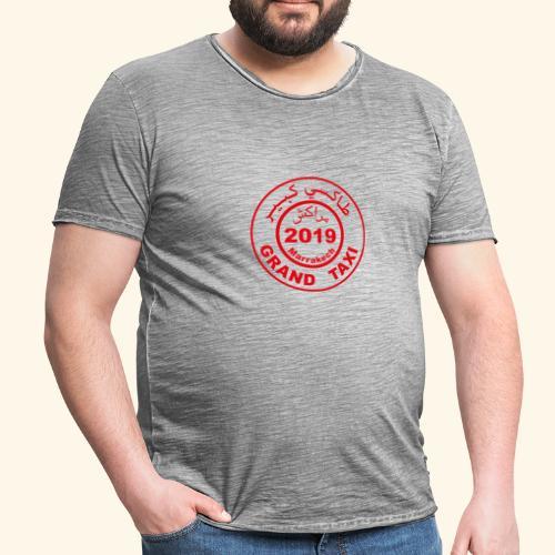 Logo du Grand Taxi de Marrakech 2019 - T-shirt vintage Homme