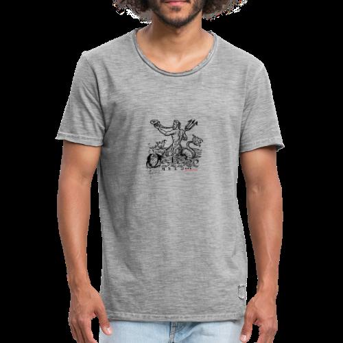 Ostseeheld 2 - Männer Vintage T-Shirt