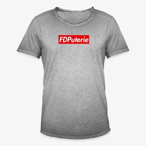 FDPuterie2 - T-shirt vintage Homme