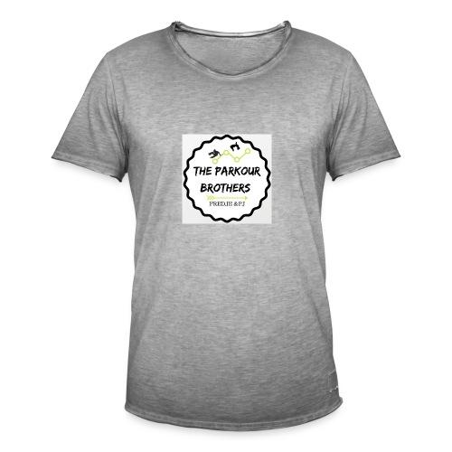 the_brothers_parkour - Mannen Vintage T-shirt