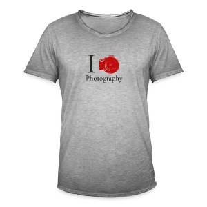 I Love Photography Collection - Männer Vintage T-Shirt