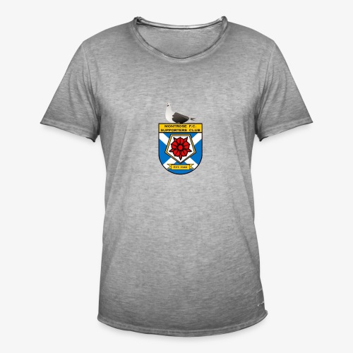 Montrose FC Supporters Club Seagull - Men's Vintage T-Shirt