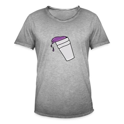 PurpleLean - T-shirt vintage Homme