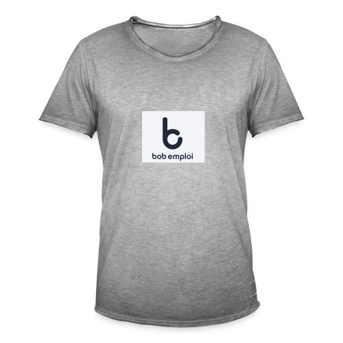 Logo_Bob_Emploi - T-shirt vintage Homme