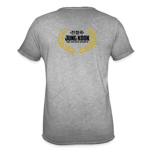 JK The Golden Maknae - Männer Vintage T-Shirt