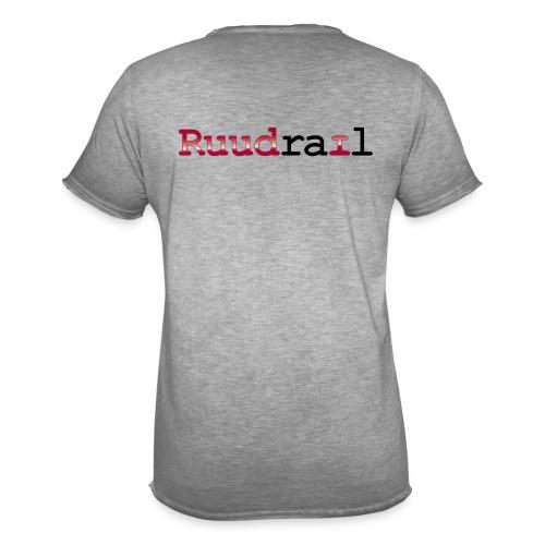 Ruudrail - Mannen Vintage T-shirt
