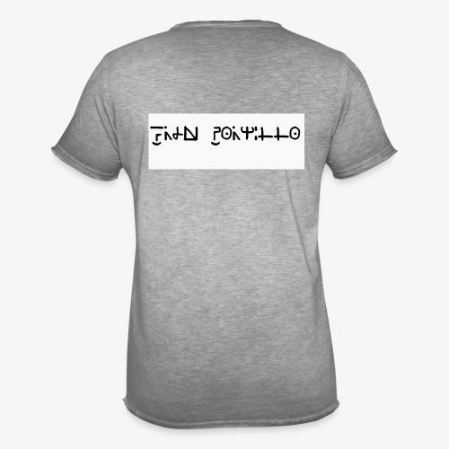 Fran Portillo (runas Alrlok) - Camiseta vintage hombre