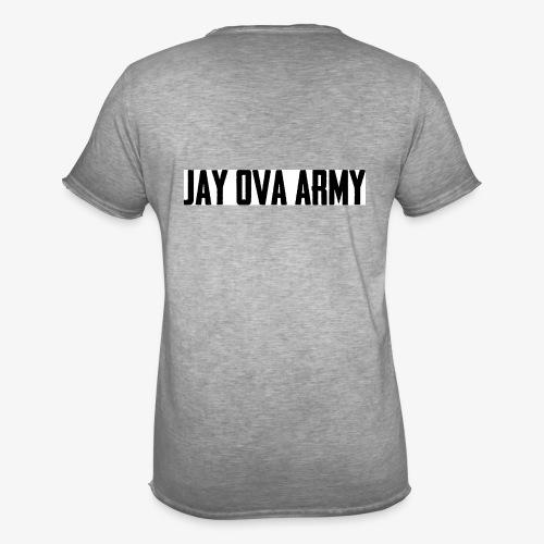 Jay Ova Army Logo - Männer Vintage T-Shirt