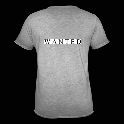 Wanted ecrit - T-shirt vintage Homme