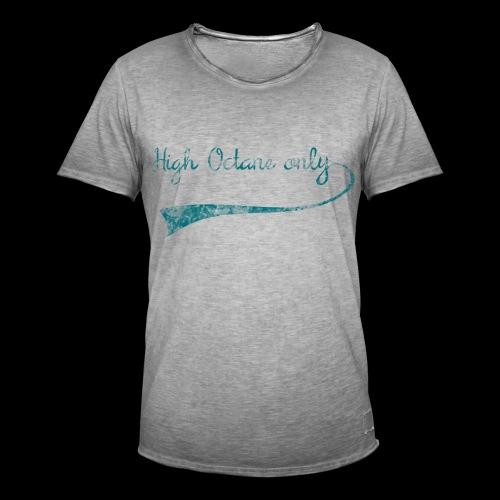 Octane 3 png - Männer Vintage T-Shirt