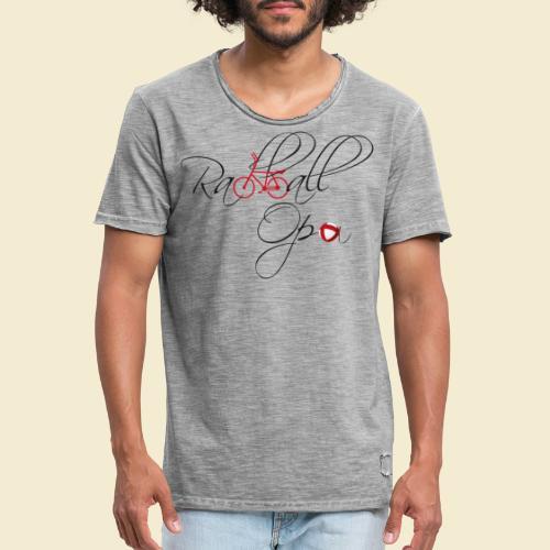 Radball | Opa - Männer Vintage T-Shirt
