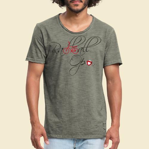 Radball   Opa - Männer Vintage T-Shirt