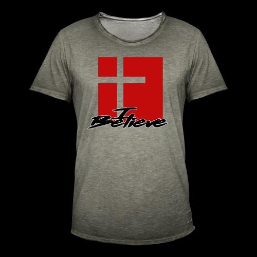 I BELIEVE 2 - Camiseta vintage hombre