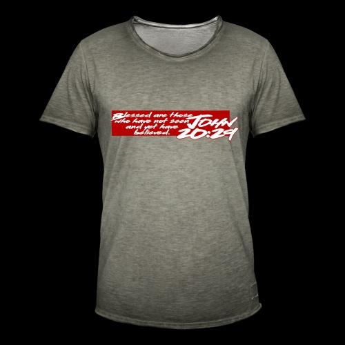 OVER REASON 2 - Camiseta vintage hombre