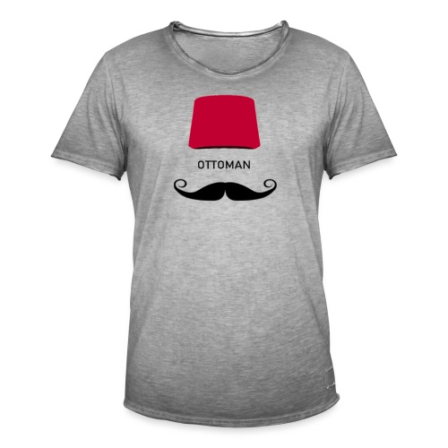 OTTOMAN - Männer Vintage T-Shirt
