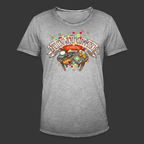 Spieleentwickler-Stammtisch Nürnberg - Männer Vintage T-Shirt