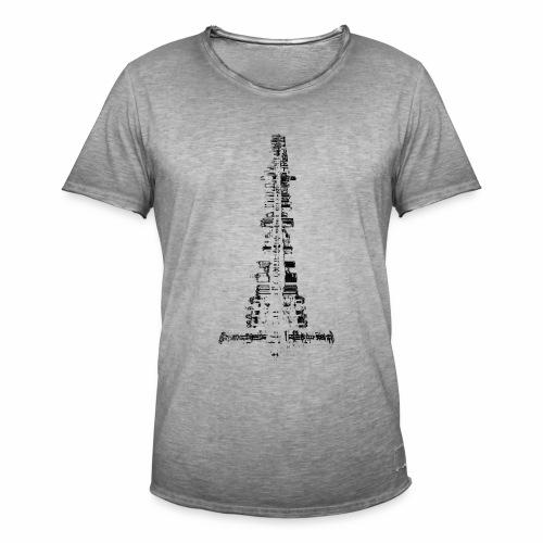 La Ville - T-shirt vintage Homme