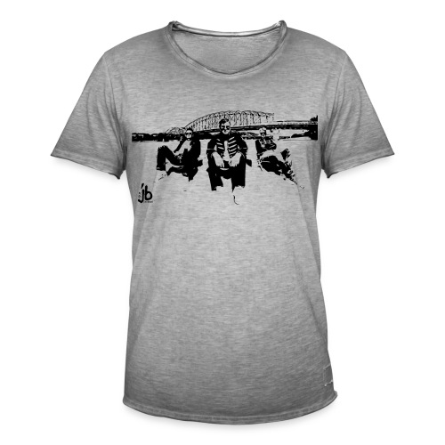 tjb Eisenbahrnbr b - Männer Vintage T-Shirt