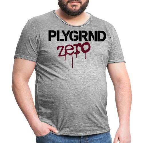 2863322 116076393 Playground Zero - Männer Vintage T-Shirt