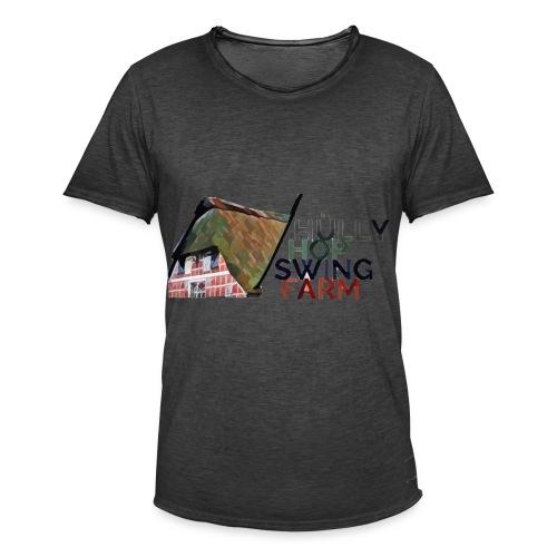 Hülly Hop Swing Farm - Männer Vintage T-Shirt