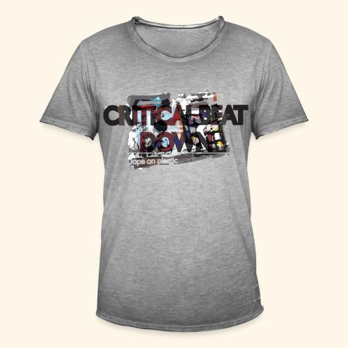 Critical - T-shirt vintage Homme