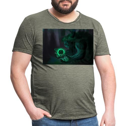 big tree - T-shirt vintage Homme