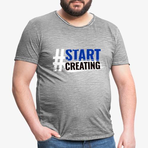 #STARTCREATING - Men's Vintage T-Shirt