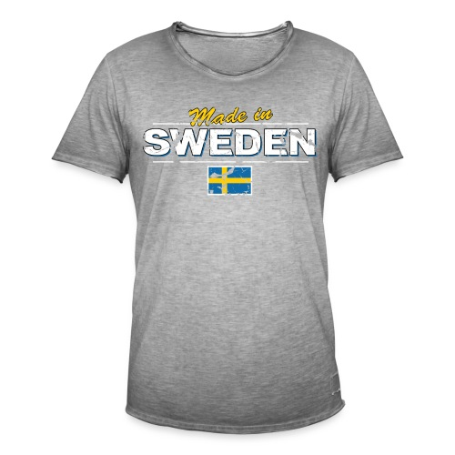 MADE IN SWEDEN - Men's Vintage T-Shirt