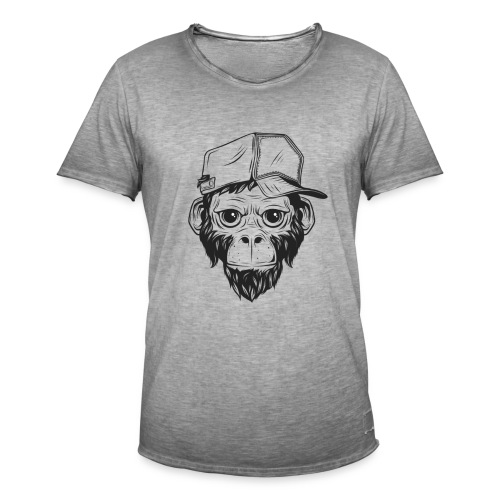 Monkey Business - Mannen Vintage T-shirt