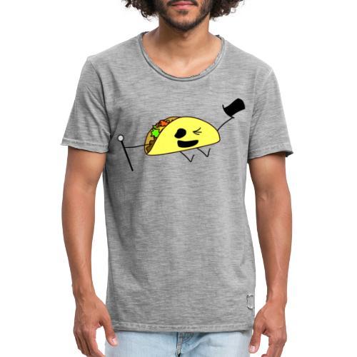 Fancy Taco - Vintage-T-shirt herr