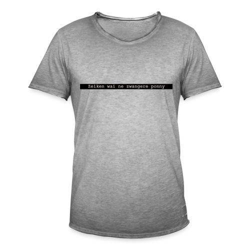 quote 1 - Mannen Vintage T-shirt