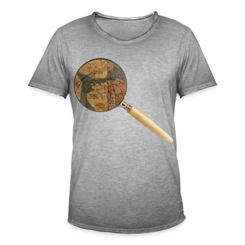 Etsivä löytää Enon - Miesten vintage t-paita