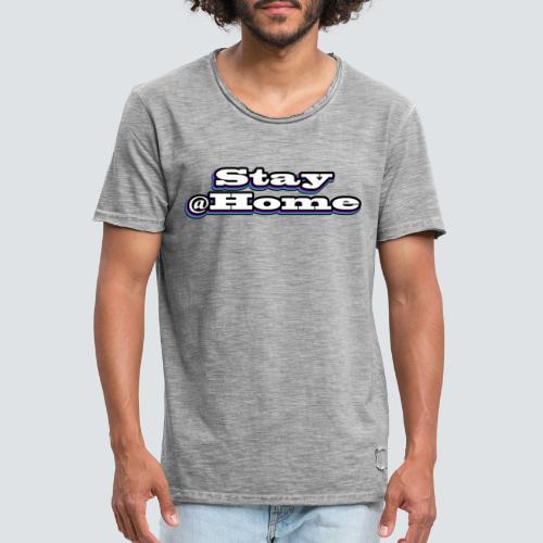 Stay@Home - multicolor - Männer Vintage T-Shirt