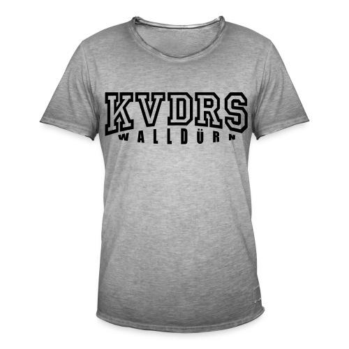 Logo groß Hintergrund hell - Männer Vintage T-Shirt