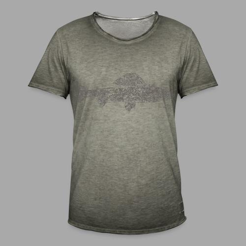 grayling - Miesten vintage t-paita