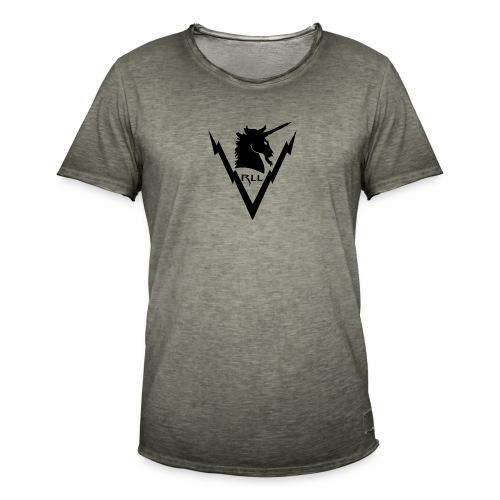 Brand RLL Black - Maglietta vintage da uomo