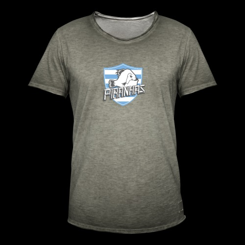 Logo Piranhas v5 - T-shirt vintage Homme