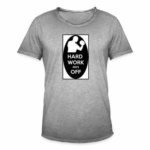 hard work pays off 2 cup.jpg - Men's Vintage T-Shirt
