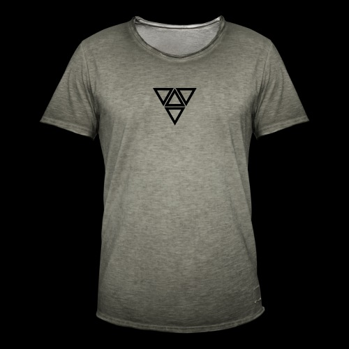 triangle - Maglietta vintage da uomo