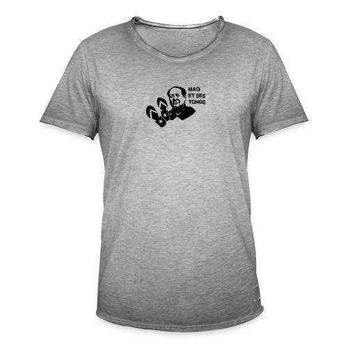 MAO et ses tongs - T-shirt vintage Homme
