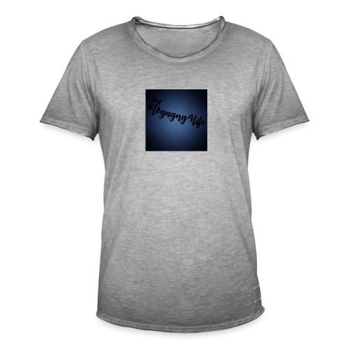 #logagng4life - Men's Vintage T-Shirt