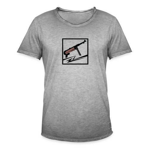Mp40 german gun - Men's Vintage T-Shirt