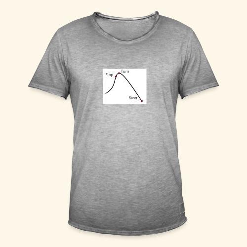 Poker Life - Männer Vintage T-Shirt