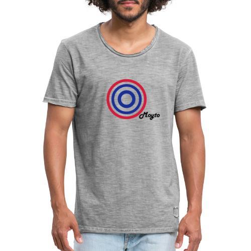 MOYTO BLACK SIDE - Maglietta vintage da uomo