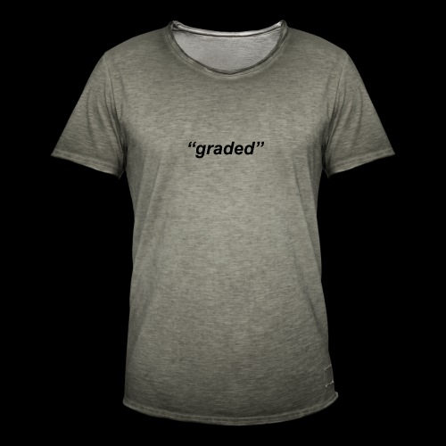 Simple Logo, Graded - Men's Vintage T-Shirt