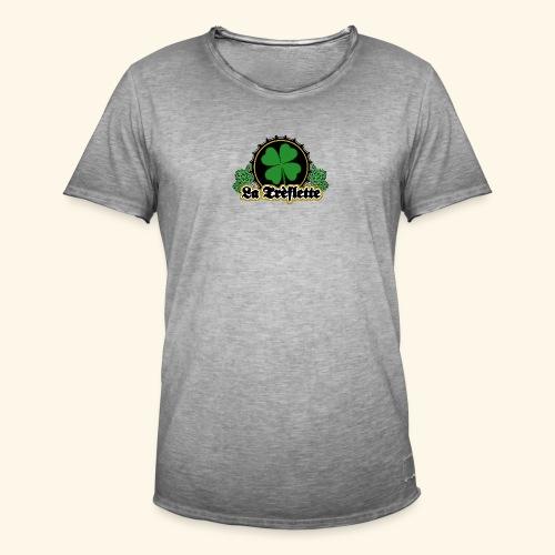 La Trèflette V.2 - T-shirt vintage Homme
