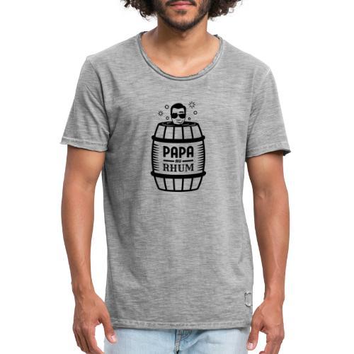 PAPA AU RHUM - T-shirt vintage Homme