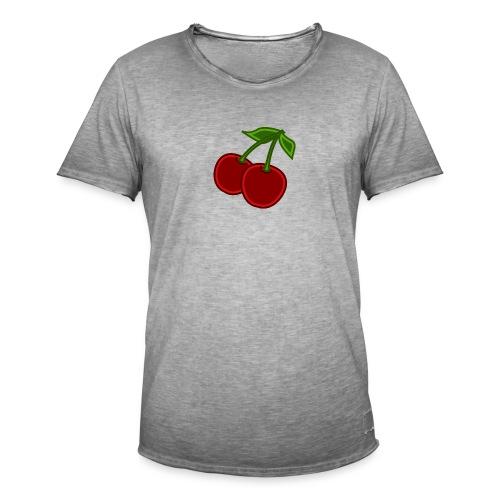 cherry - Koszulka męska vintage